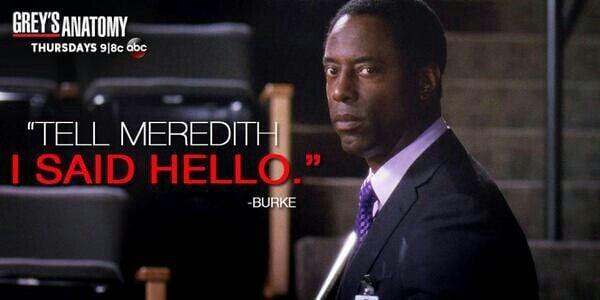 Meredith Grey Washington Youre Very Welcome Yo