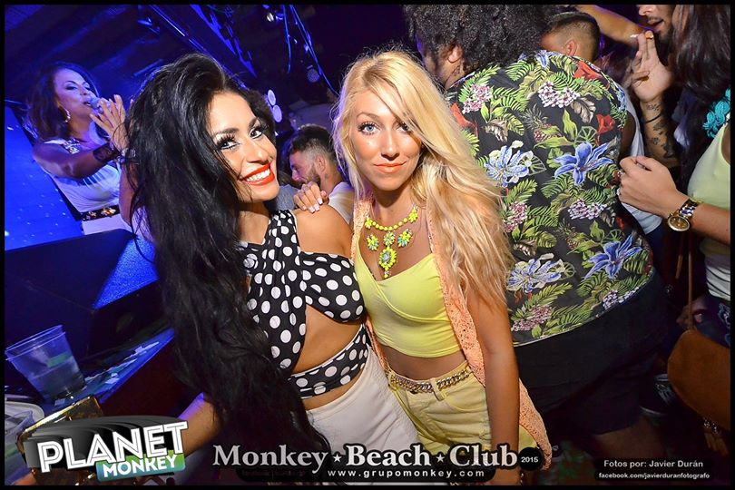 Girls In Night Club In Tenerife Spain