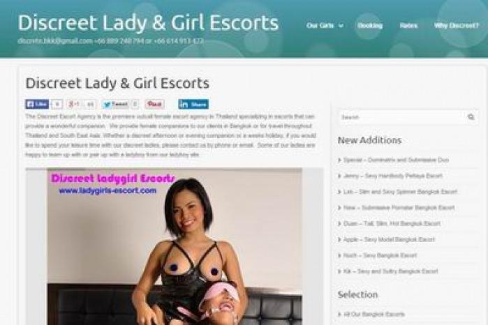 Agency Bangkok Discreet Escort