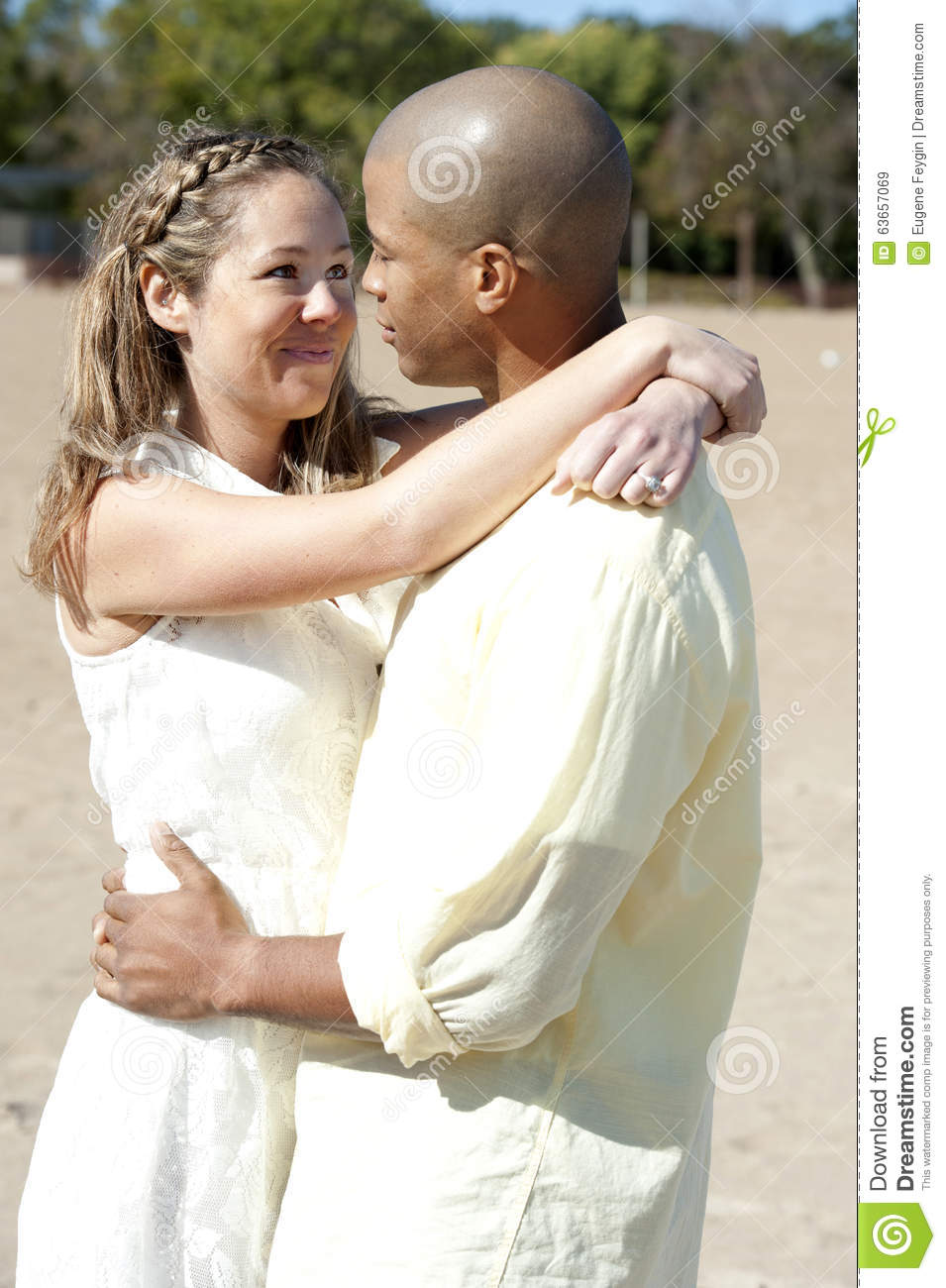 Srta A Brooklyn Interracial Looking Young Couple