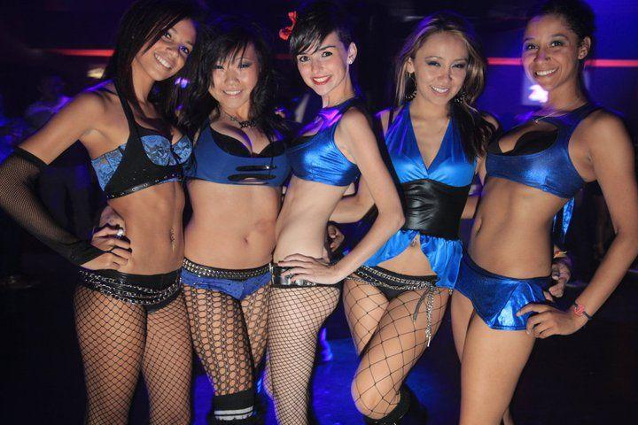 Girls In Night Club In Elche Spain