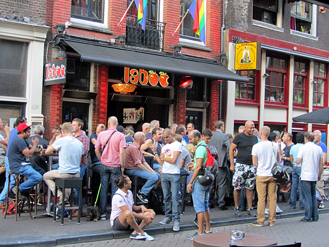 Gay Amsterdam Taboo Bar Rem