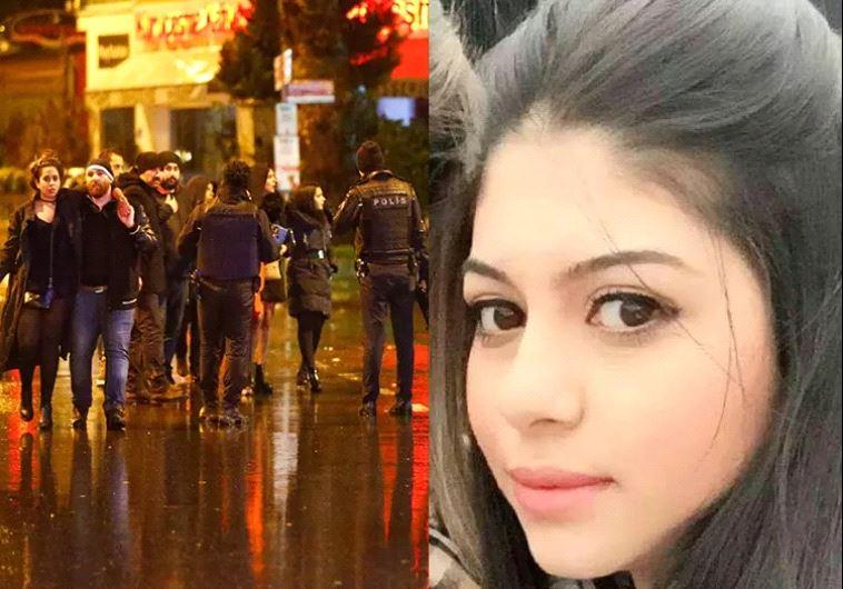 Israel Club Girls Jerusalem In Night In Intreac