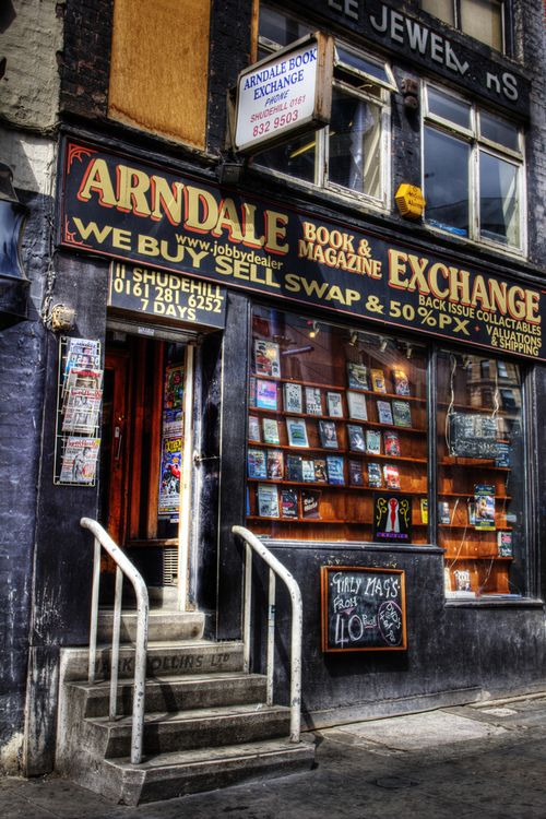 Sex Exchange Arndale Shops Magazine Book Manchester Vaugh