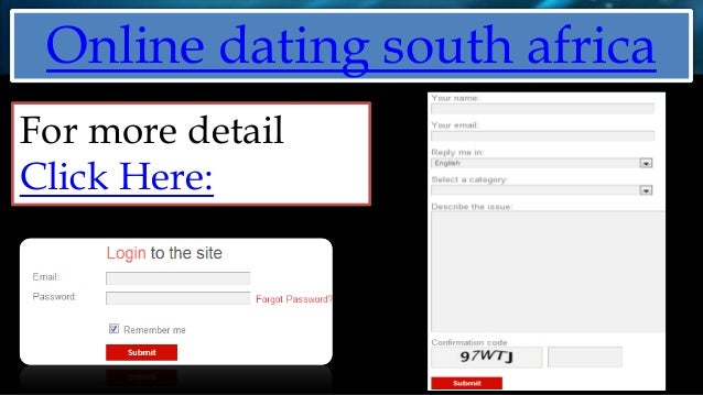 Demands Sites Free Dating South African Naturalist