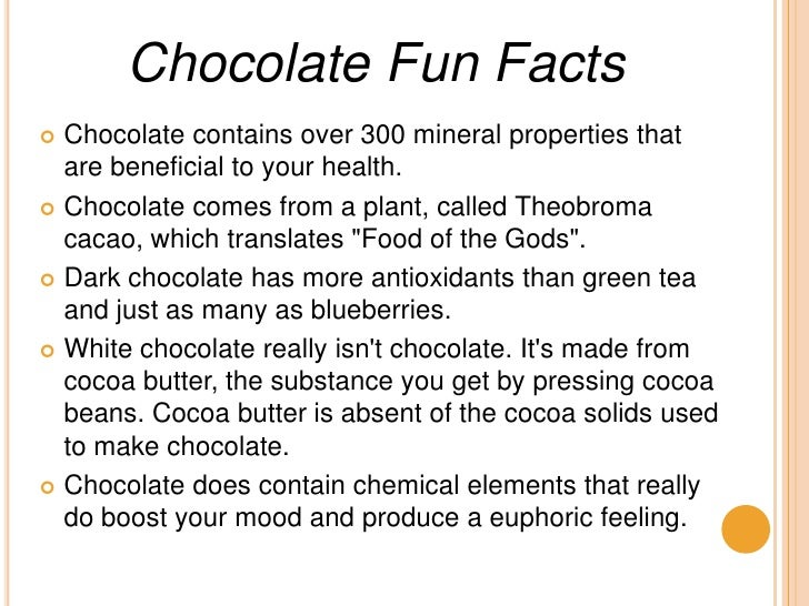 Marlow Chocolate Facts 8 And For Fun About Day Love Chocolate World