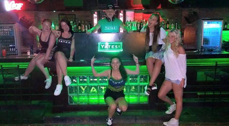 Dyeing Club Night Girls Spain Tenerife In In Katierain