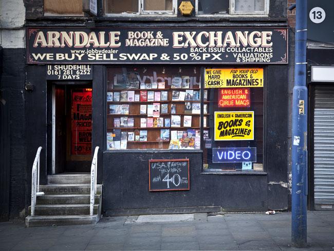 Arndale Book Magazine Exchange Manchester Sex Shops
