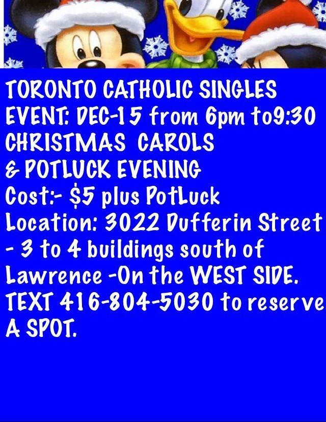 Dating In Singles Affair Toronto Catholic Ariel