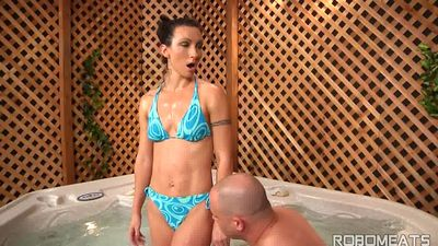 Melinda Evening Late Little A Over Cum Tension Reli 4 On