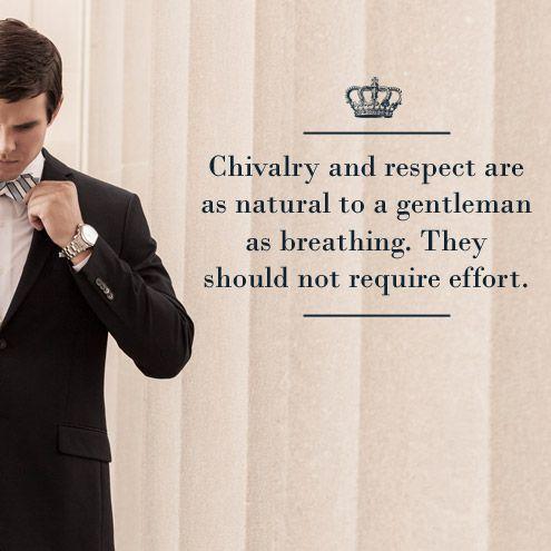 Handsomely Chivarous Gentleman