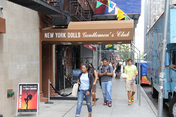 New York City Club Pinks Strip
