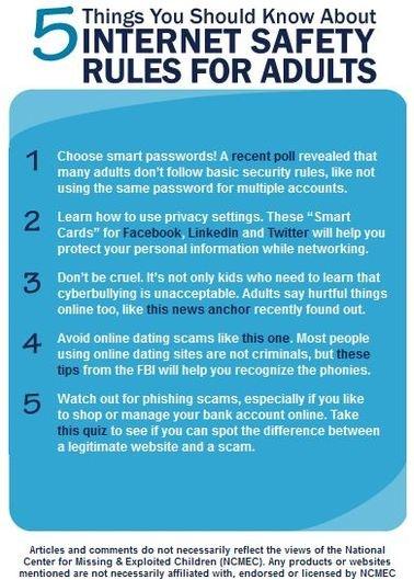 Dating Safe Tips Internet