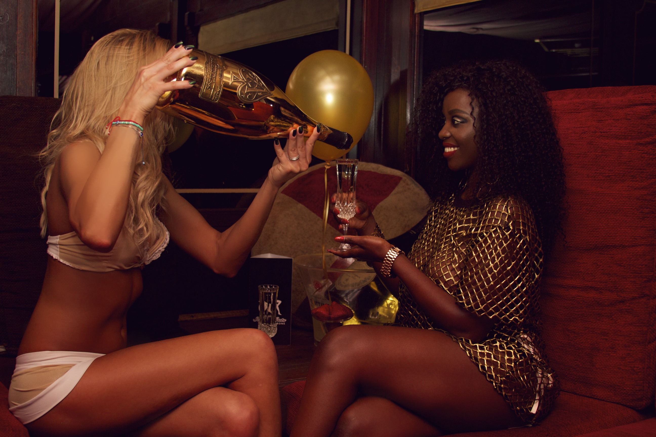 London Strip Club Sophisticats Janey